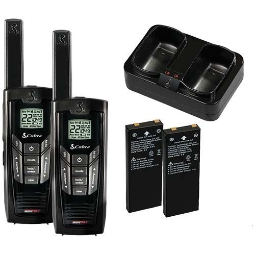 cobra microtalk walkie talkies manual