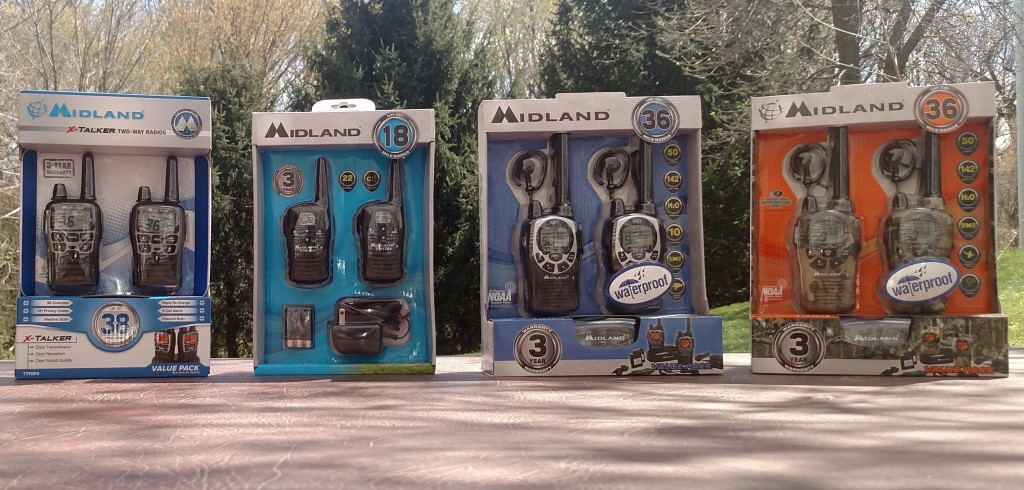 The Four Midland Radios I Tested