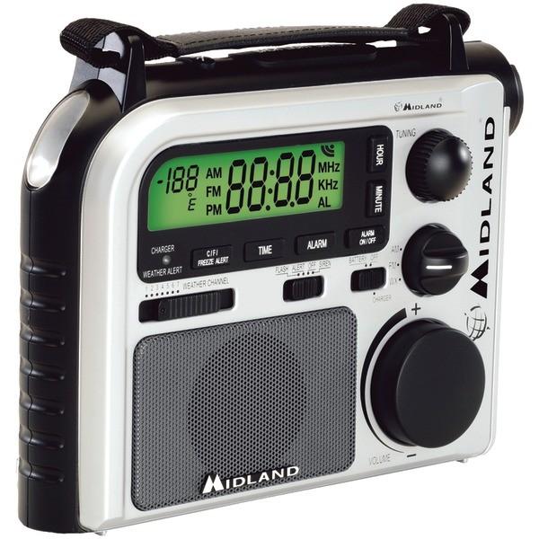 Midland Er102 7 Channel Emergency Crank Radio With Am Fm