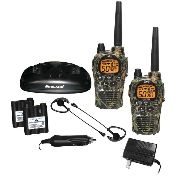 Midland Gxt1050vp4 36mile Camo Gmrs Radio Pair Pack With Batteries Rhdigitalnerds: Midland Walkie Talkie Radios At Gmaili.net