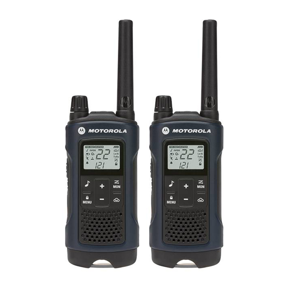 MOTOROLA 35-Mile Talkabout T460 Rechargeable 2-Way Radio