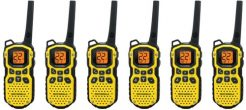 Waterproof Two Way Radios 6 Pack