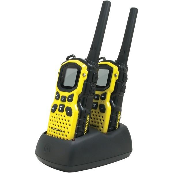 Motorola Ms350r 35 Mile Talkabout Waterproof 2 Way Radios