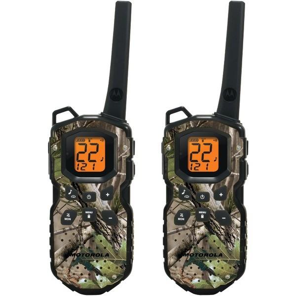 MOTOROLA MS355R 35-Mile Talkabout® Waterproof 2-Way Radios with Realtree® Camo Finish