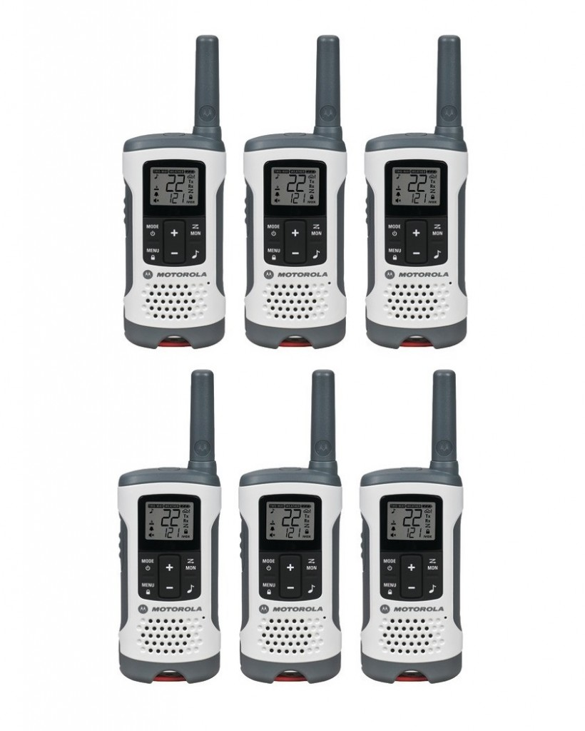 MOTOROLA T260TP 25-Mile Talkabout T260 2-Way Radios Triple PackMOTOROLA T260TP 25-Mile Talkabout T260 2-Way Radios Six Pack