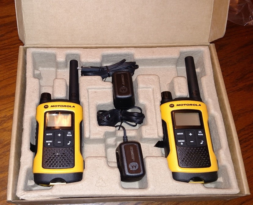 Motorola Talkabout T400 T wo way radios for sporting events