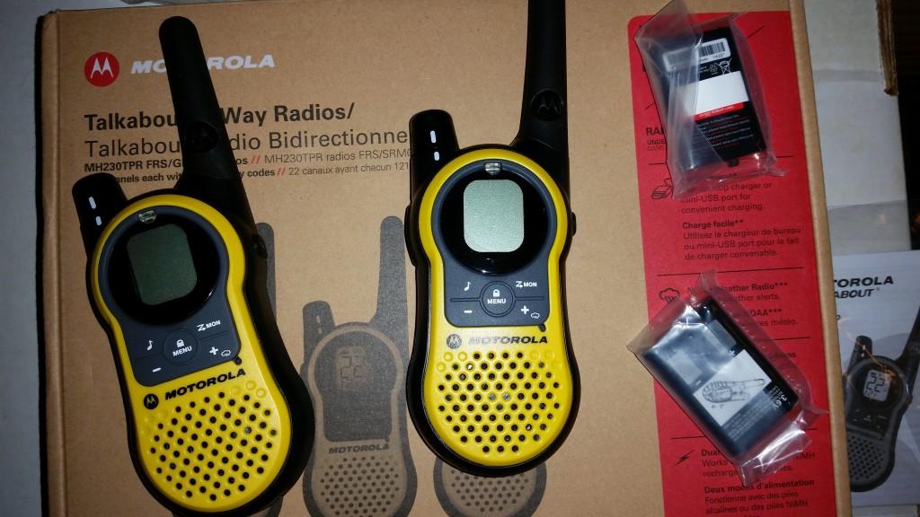 Motorola Talkabout MH230 Two Way Radio