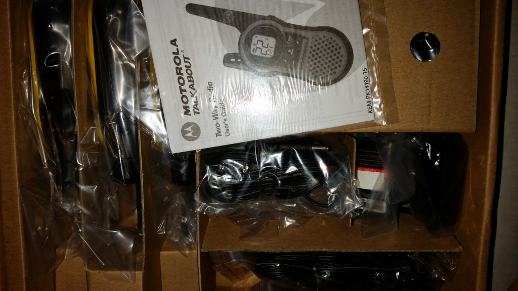 Motorola Talkabout MH230 Two Way Radio Accessories