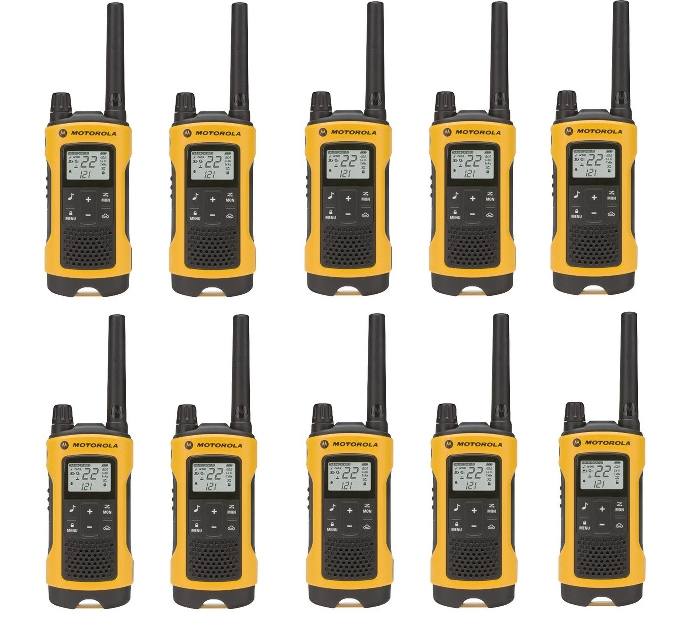 Motorola Talkabout T400 Walkie Talkie Set 35 Mile Two Way
