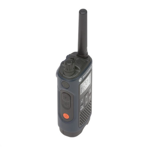 Motorola Talkabout T465 Walkie Talkie 4 Pack 35 Mile Two Way Radio Side