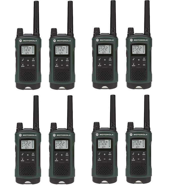 motorola talkabout t465 walkie talkie 8 pack 35 mile two. Black Bedroom Furniture Sets. Home Design Ideas