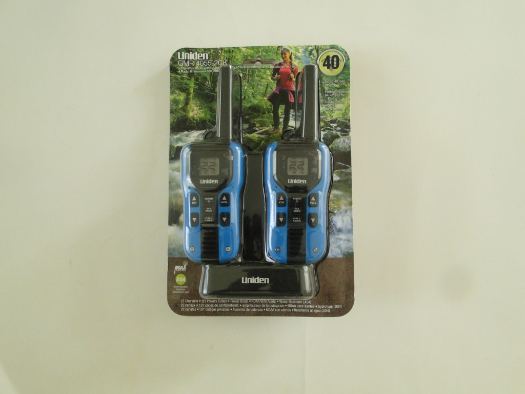UNIDEN GMR4055-2CKHS 40-Mile 2-Way FRS/GMRS Radios with Headsets