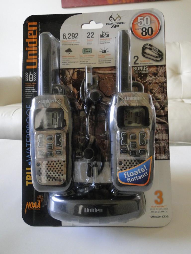 Uniden GMR5099-2CKHS Water Proof Two Way Radio