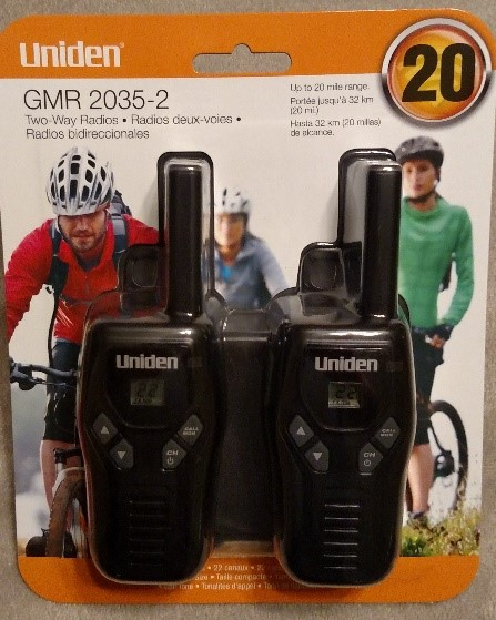 Uniden GMR2035-2 -Great budget Tw Way Radio