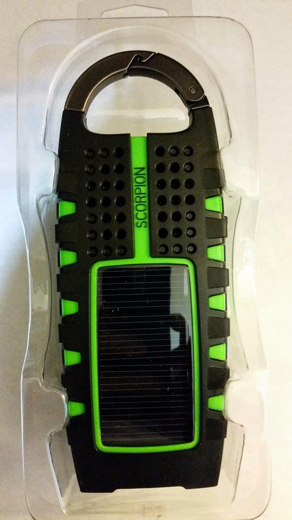 Etón SCORPION Solar Panel for charging