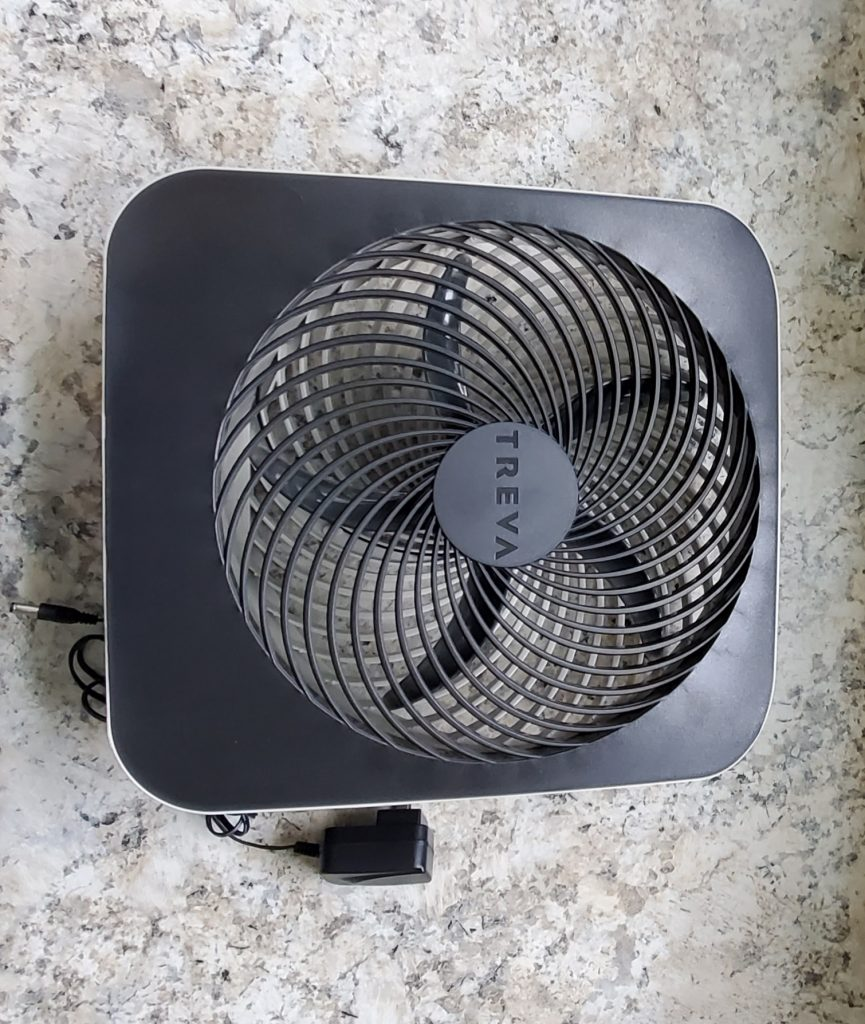 "Treva 10"" Portable Desktop Fan"