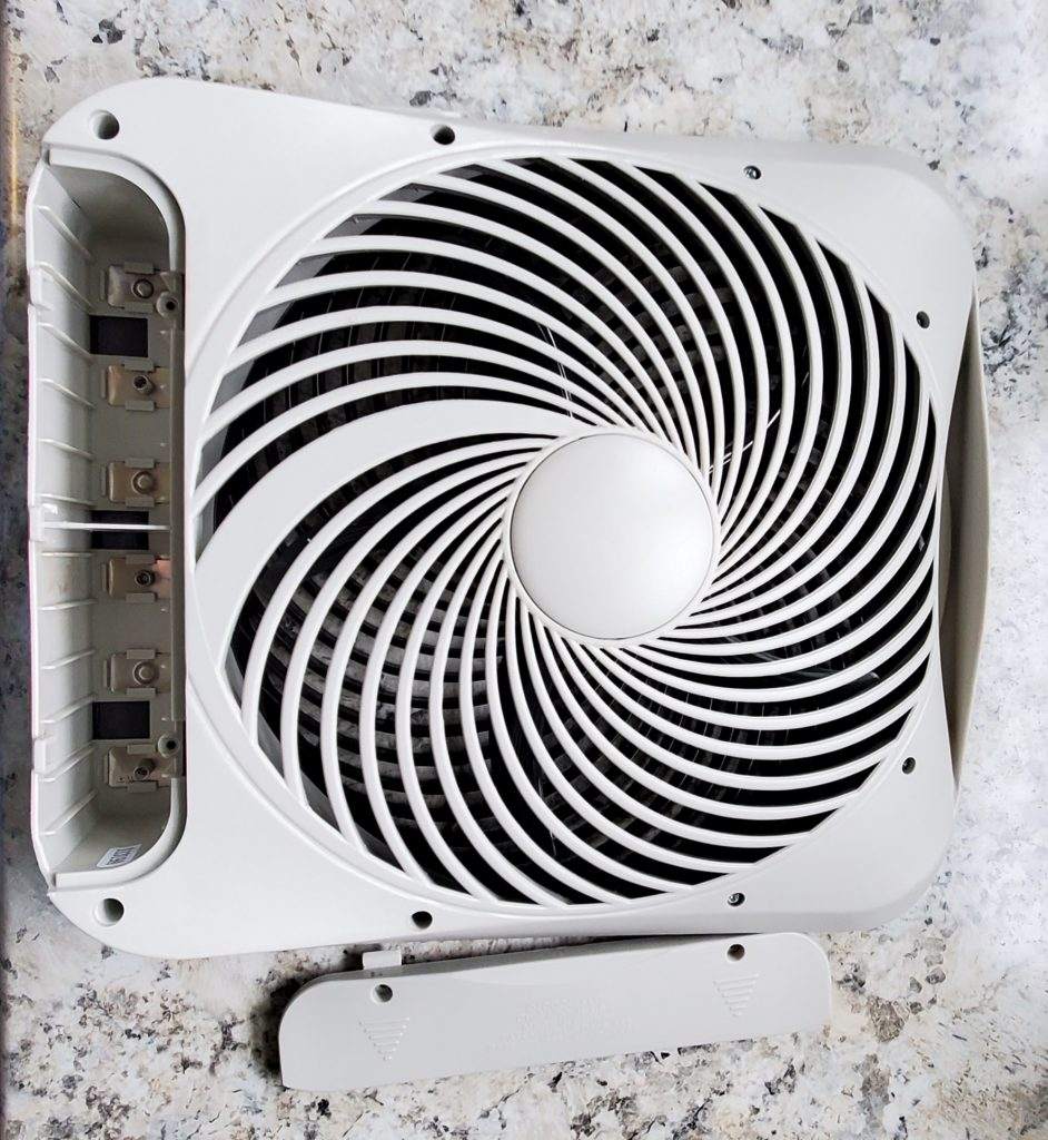 "Treva 10"" Portable Desktop Fan Housing"