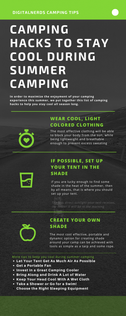 10 Camping Hacks to Stay Cool During Summer Camping ...