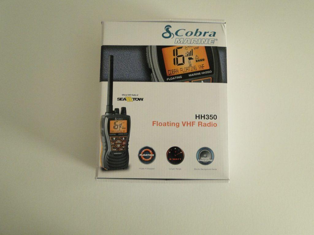 Cobra MR HH350 FLT VHF 6 Watt Floating Handheld Marine Radio NOAA Weather