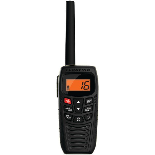 UNIDEN ATLANTIS 270 Floating Handheld 2-Way Marine Radio