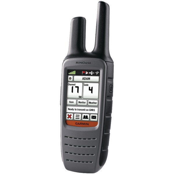 waterproof two way radio Garmin Rino 650