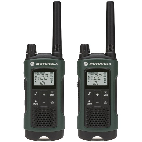 MOTOROLA 35-Mile Talkabout® T465 Rechargeable 2-way Radio