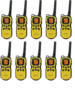 Ten Pack Two Way Radios