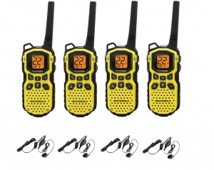 Four Pack Two Way Radios