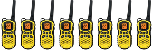 Waterproof Two Way Radios 8 Pack
