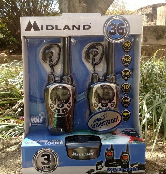 Midland Radio GXT1000VP4 Two-Way Radio 36 Mile radios