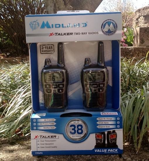 Midland Xtalker 38 Mile Two Way Radios