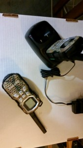 Motorola Talkabout MS355R Walkie Waterproof Pair Set 35 Mile Two Way Radio Camo with Base