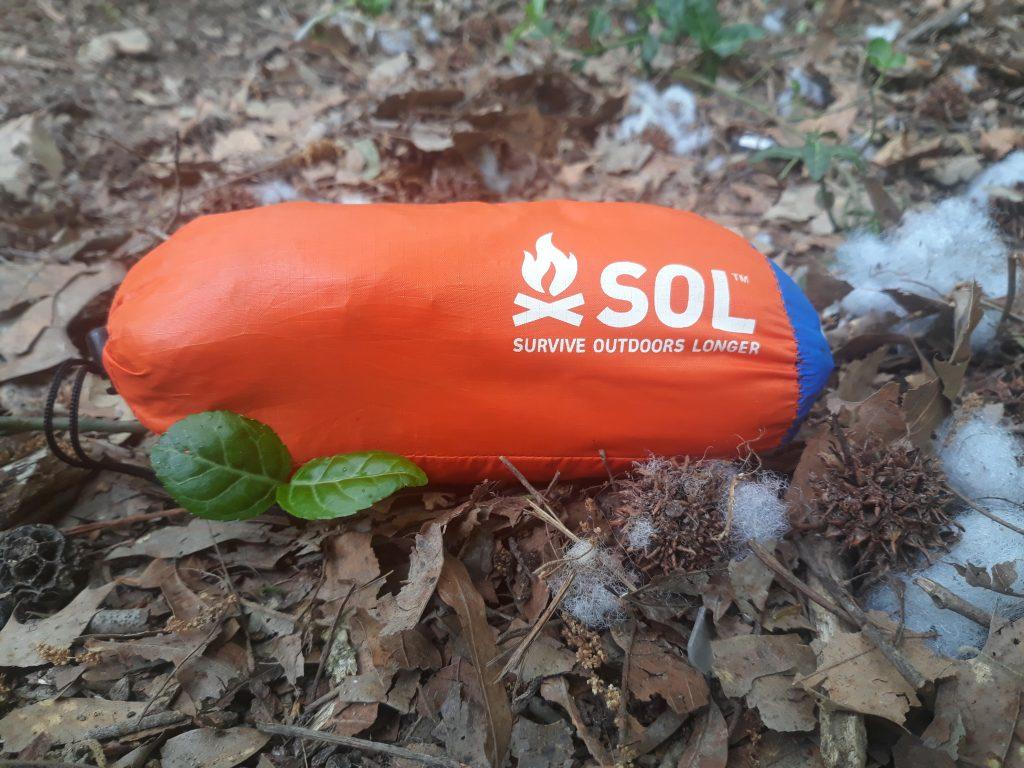 SOL Survival Bivvy emergency tent