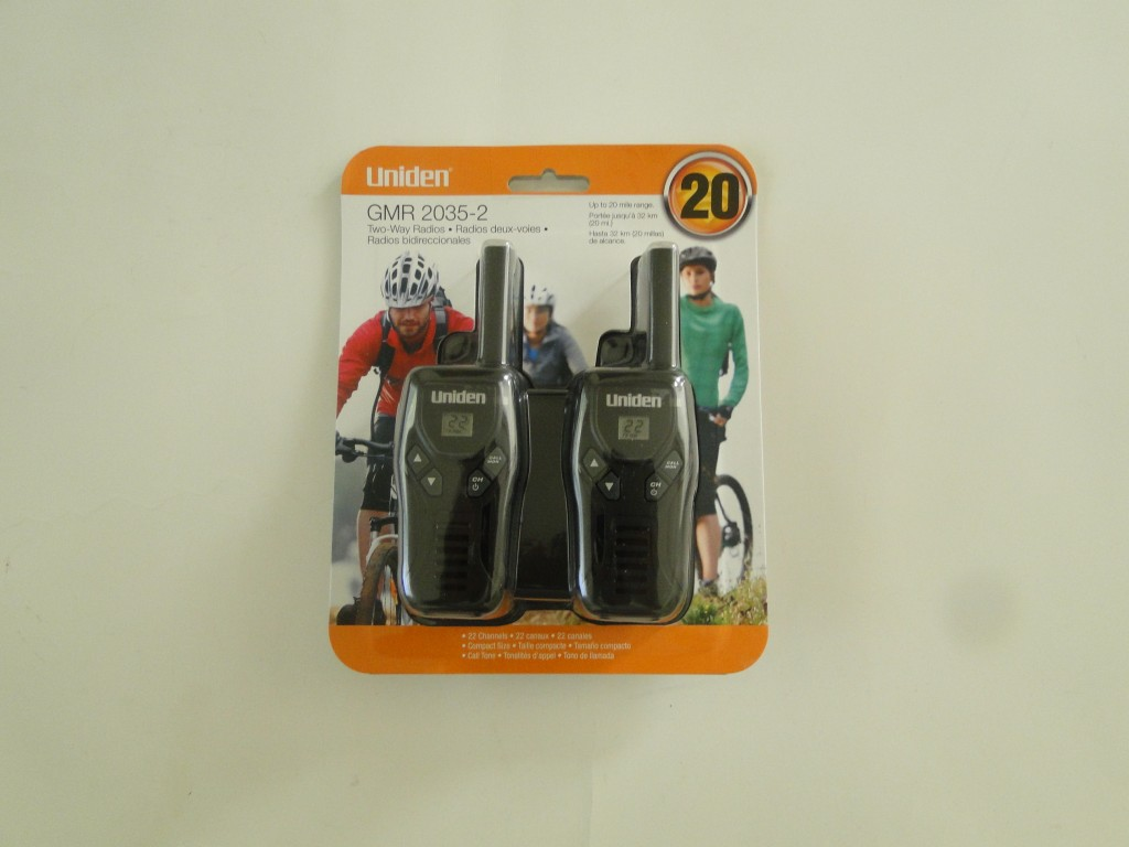 UNIDEN GMR2035-2 20-Mile 2-Way FRS GMRS Radios