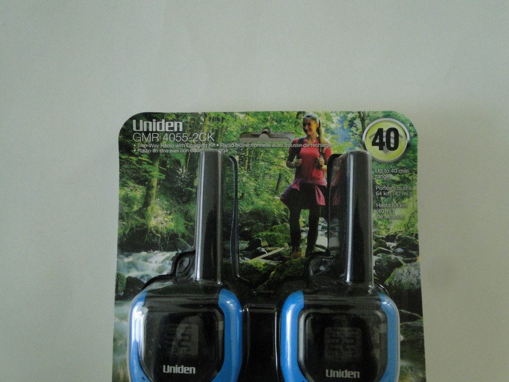 UNIDEN GMR4055-2CKHS 40-Mile 2-Way FRS/GMRS Radios with Headsets Top