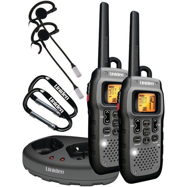 UNIDEN GMR5089-2CKHS 50-Mile 2-Way FRS/GRMS Radios -Two way radios for sporting events