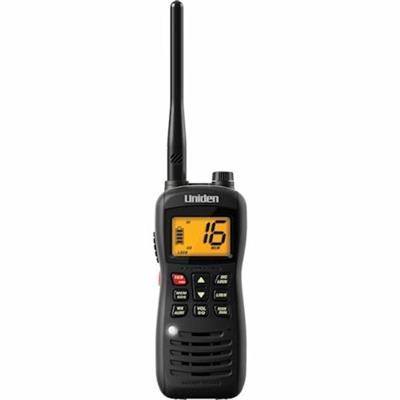 UNIDEN MHS126 Handheld Floating 2-Way VHF Marine Radio