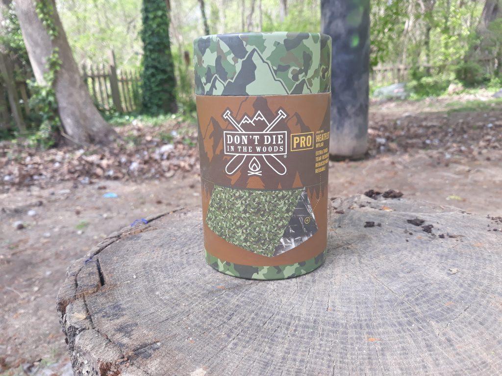 Woods Emergency Tent donot die sticker
