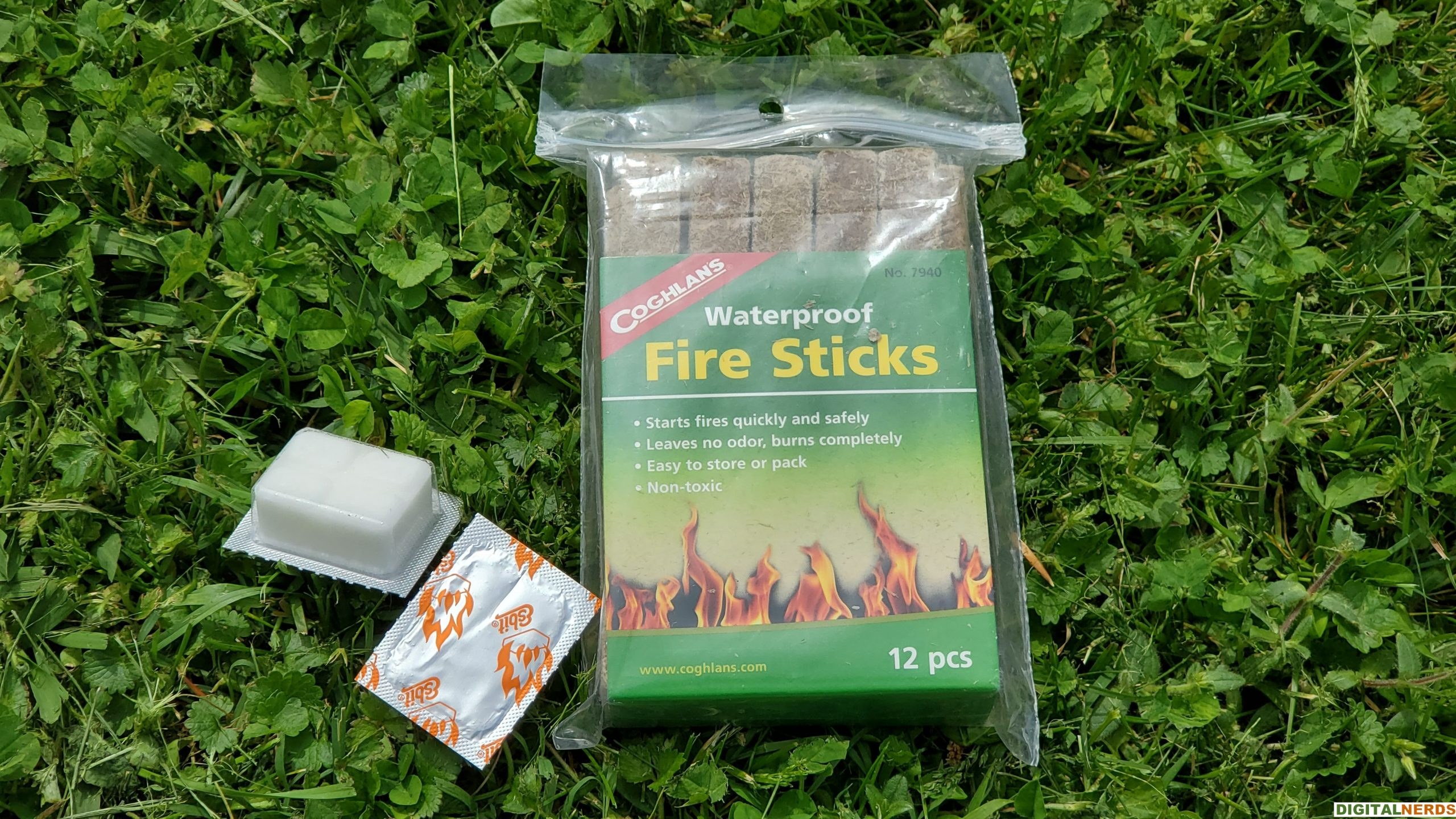 Redcamp Wood Burning Camping Stove Fire Stick Testing