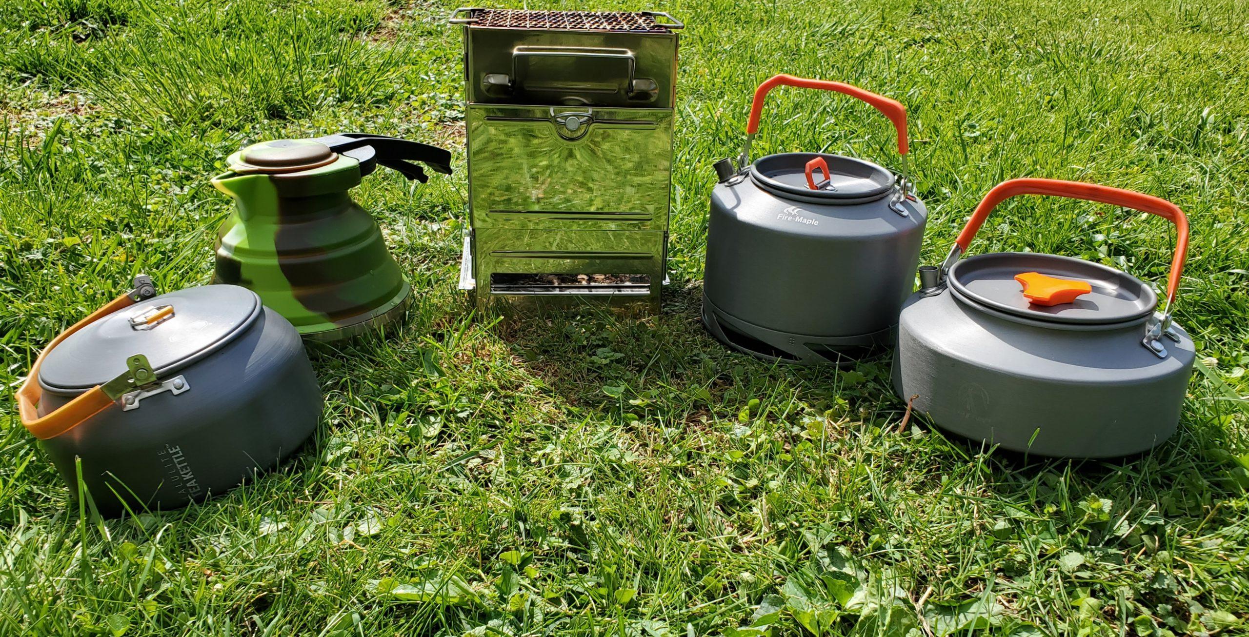 Aluminum Camping Kettles Testing
