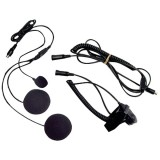 MIDLAND AVPH2 2-Way Radio Accessory (Closed-Face Helmet Headset Speaker Microphone