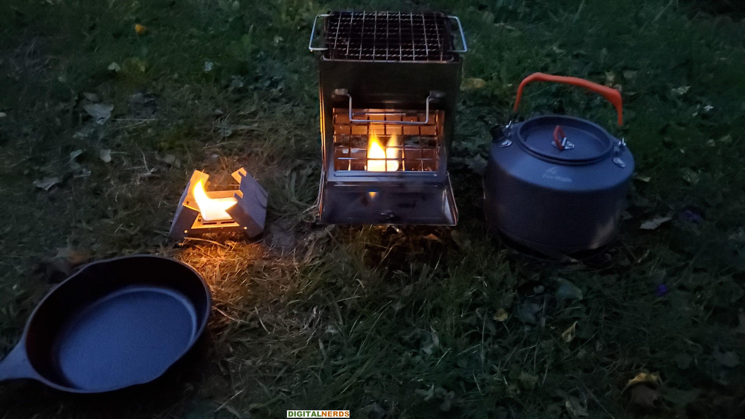 Redcamp Wood Burning Camping Stove Testing