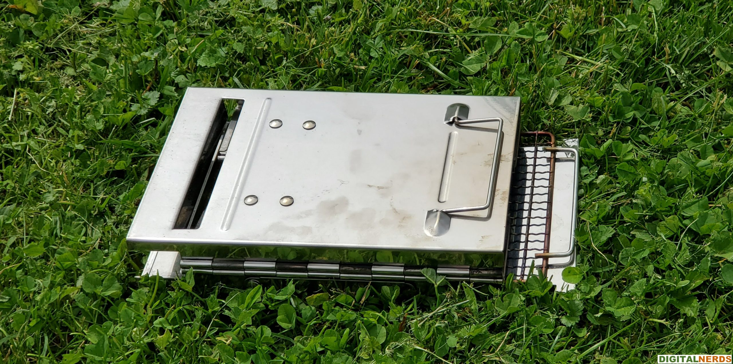 Redcamp Wood Burning Camping Stove Collapsed View