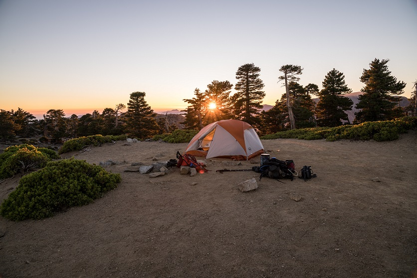 summer camping tent
