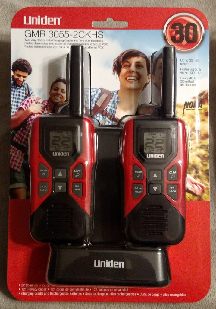 Top Choice Walkie Talkie - Uniden GMR3055-2CKHS